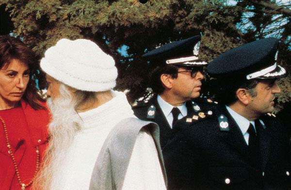 Osho arrested in Greece