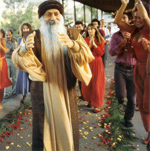 Osho dancing in Jesus Grove