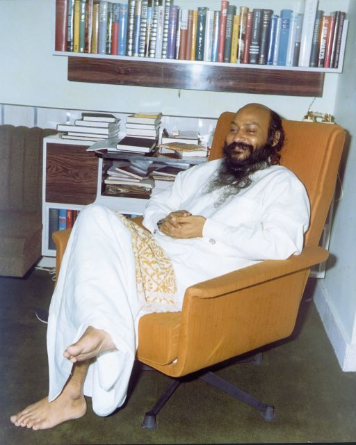 Osho in Woodland