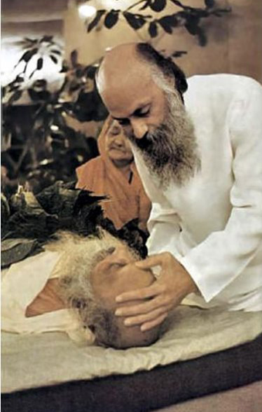 Osho sending off his father