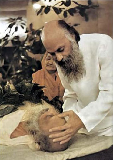 Osho sends off his father