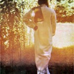 Osho with towel in his garden