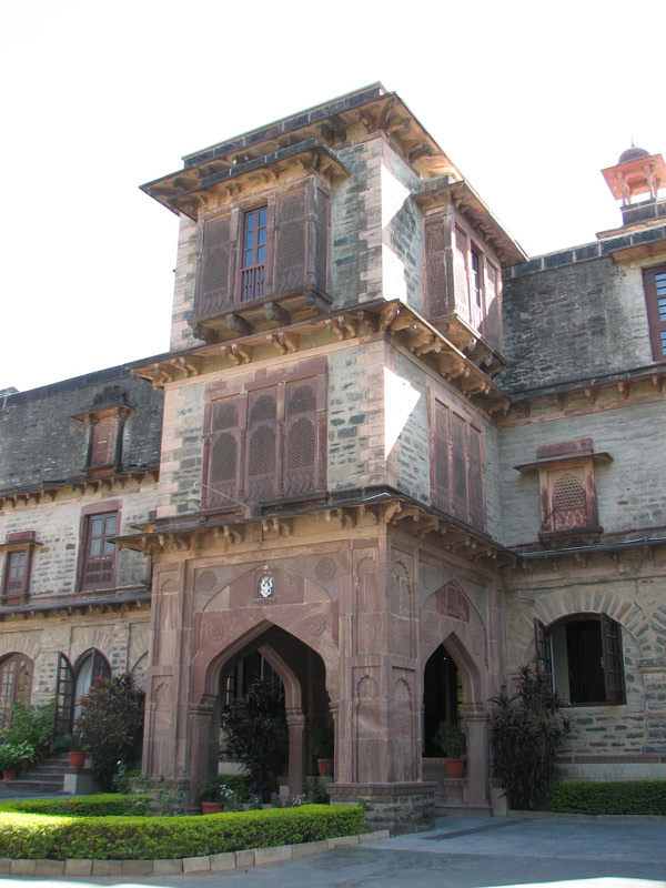 Palace Hotel in Mt. Abu (today)