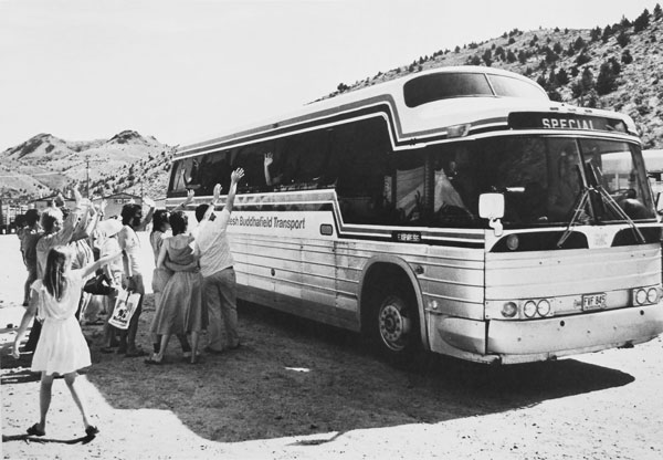 RBT coach leaving Rajneeshpuram