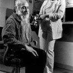 Osho in jail, with nurse Lisa Parker