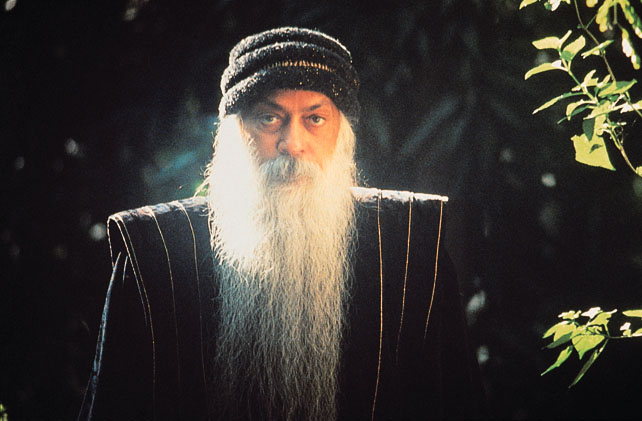 Osho in the garden